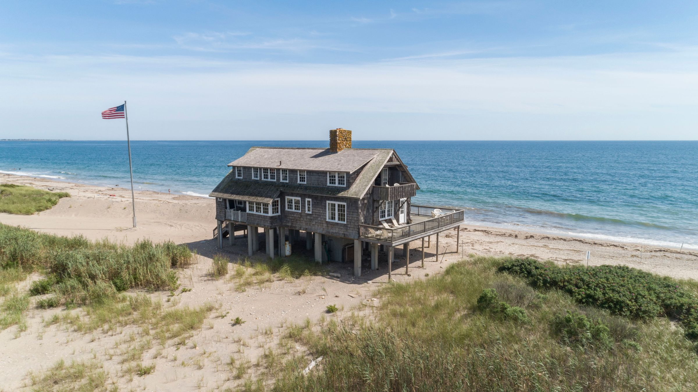 SAVE THIS OLD HOUSE: ONE OF THE LAST BROWNING COTTAGES ON MATUNUCK BEACH