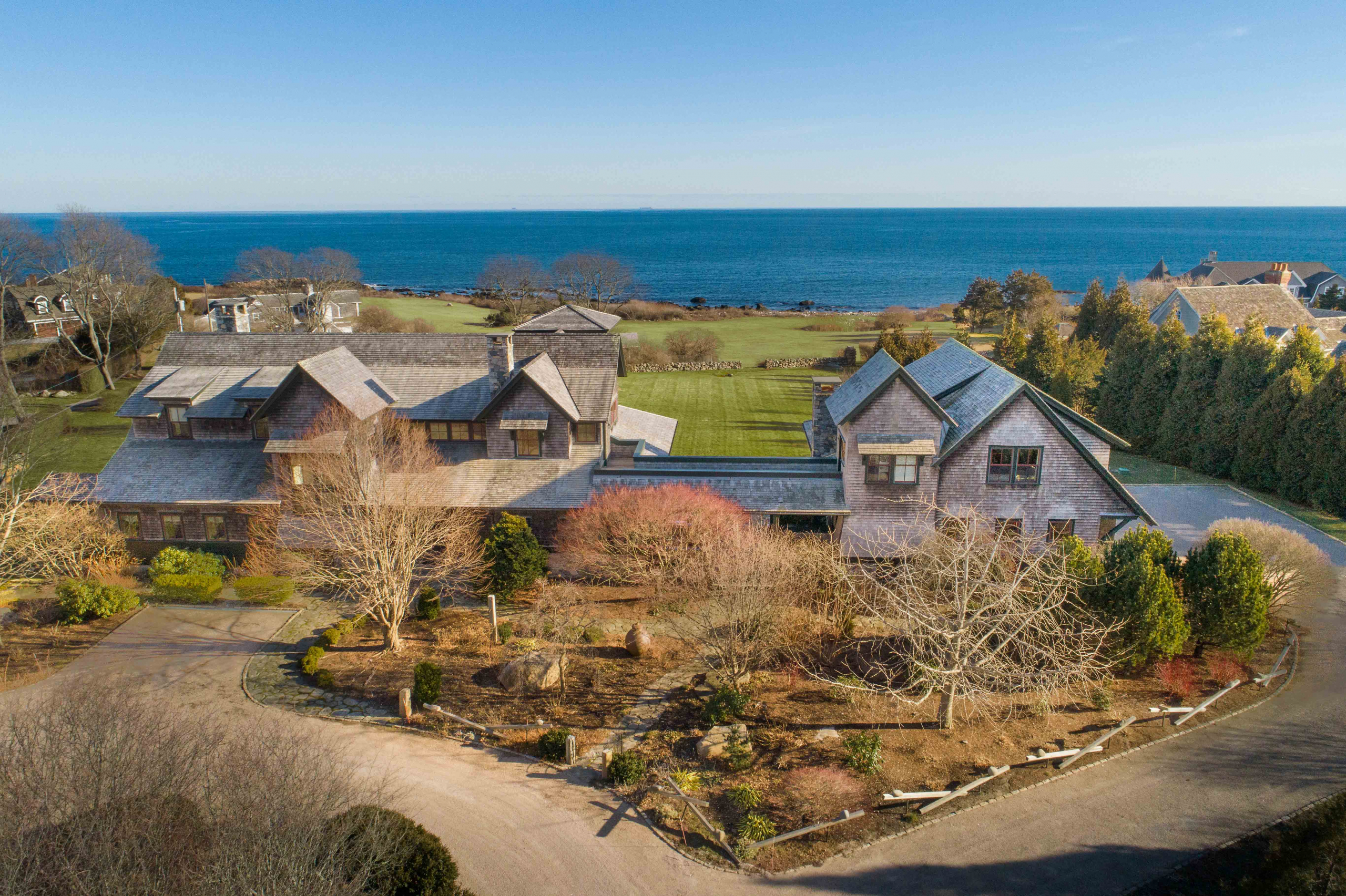 OCEAN ROAD AREA ESTATE SELLS AT LIST PRICE OF $4.45M, MARKING NARRAGANSETT'S HIGHEST SALE OF A NON-WATERFRONT HOME EVER*