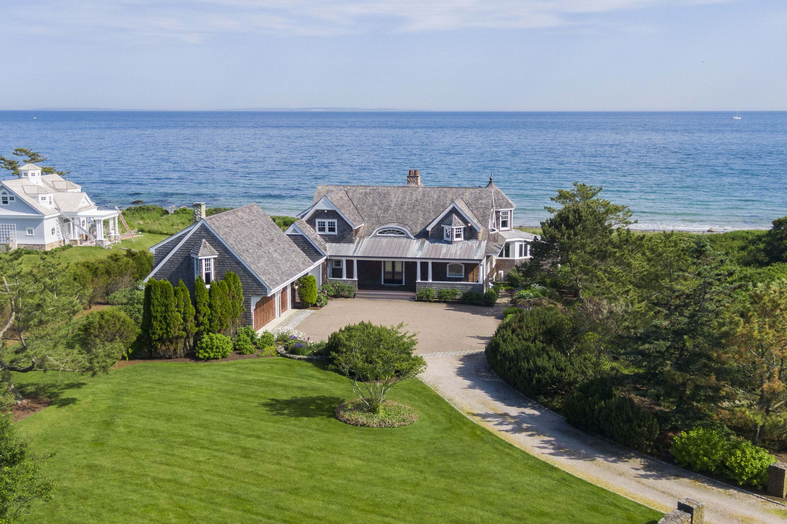 QUONNIE OCEANFRONT HOME ON 2+ ACRES SELLS FOR $6,500,000, MARKING HIGHEST SALE IN CHARLESTOWN EVER*