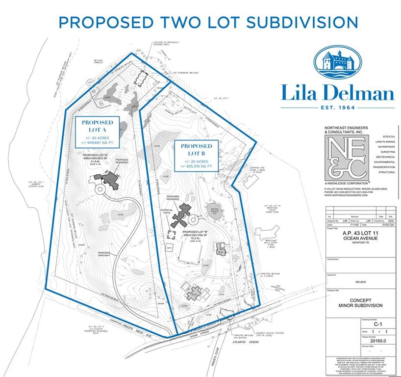 339 Ocean (proposed Lot A) Avenue, Newport