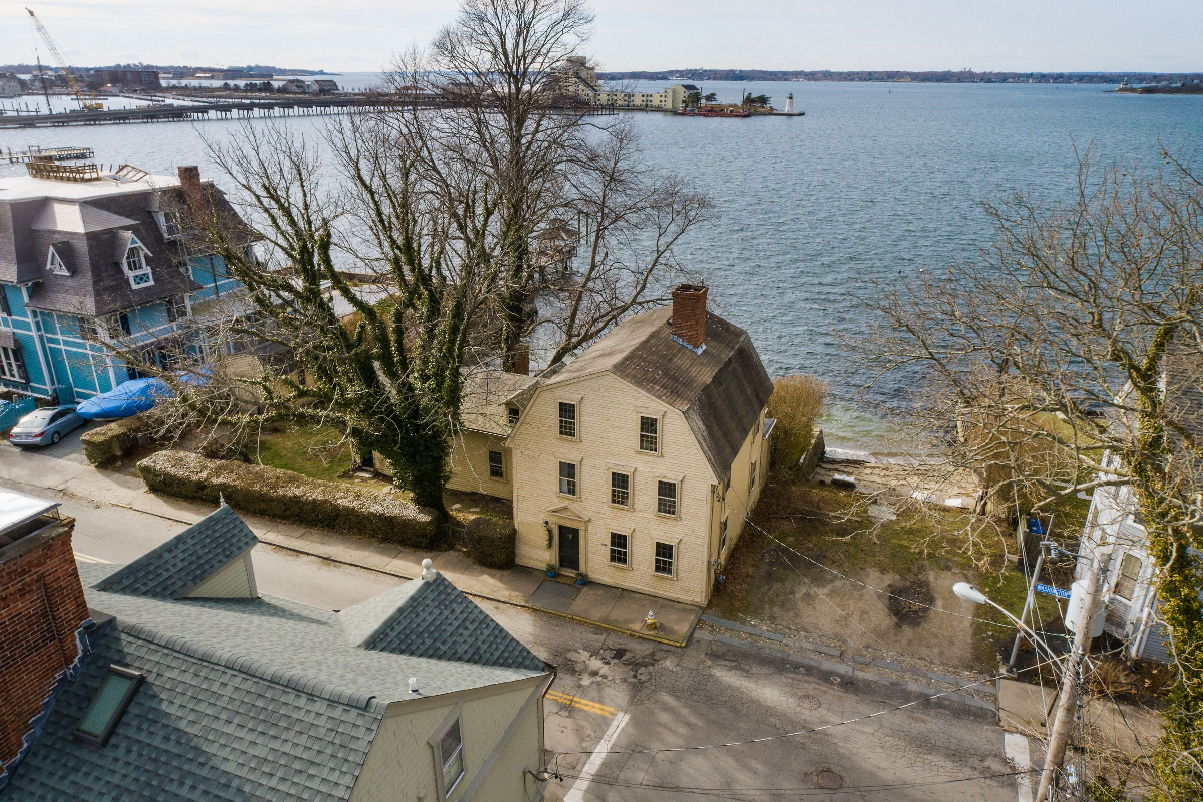 WATERFRONT HOME IN NEWPORT'S POINT NEIGHBORHOOD SELLS FOR $3.45M BY GEORGE TOLLEFSON AND JULIE WARBURG OF LILA DELMAN REAL ESTATE