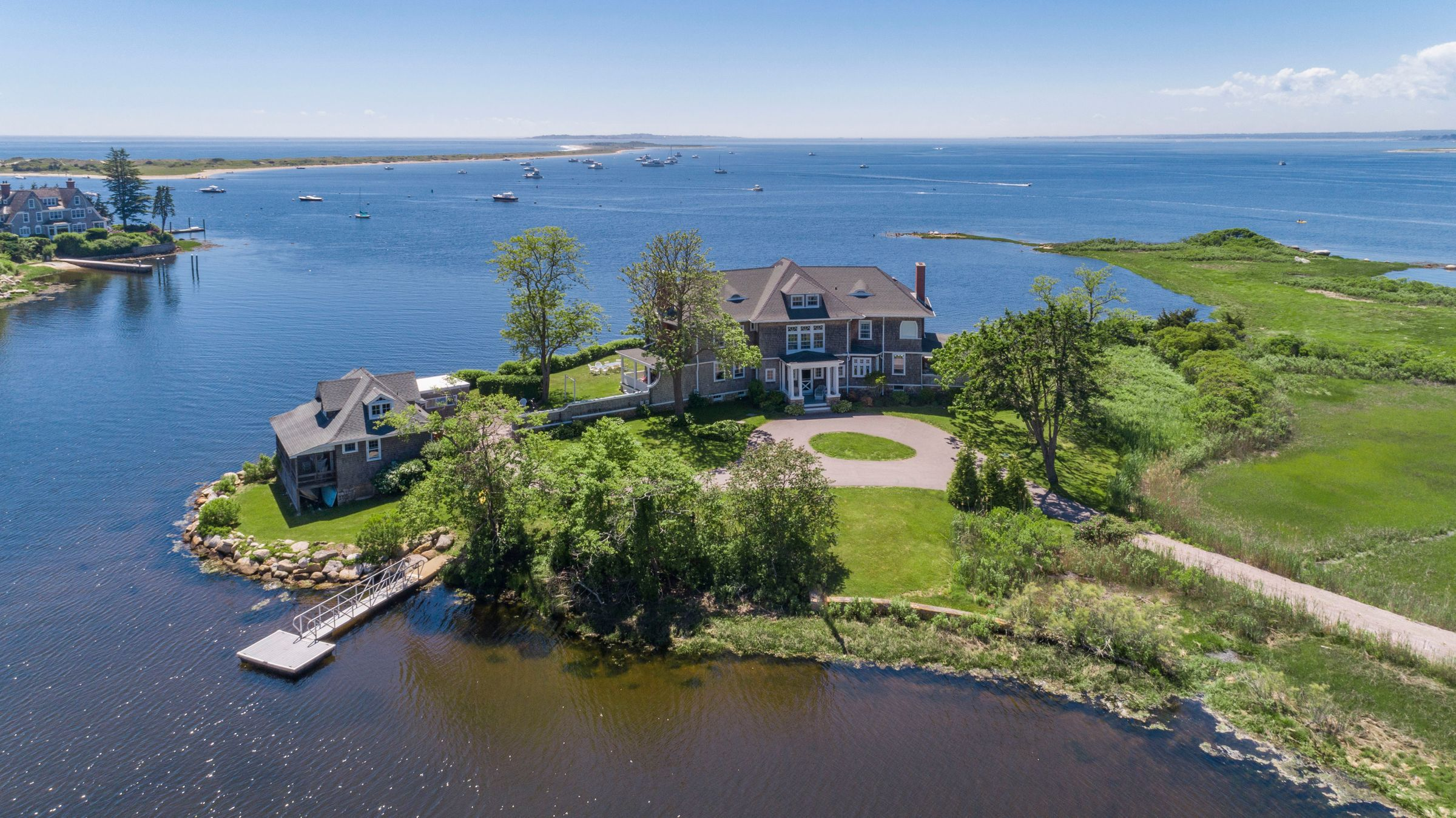 Watch Hill Estate on Private Peninsula Sells for $7.75M with Lori Joyal Representing Both Sides of the Transaction