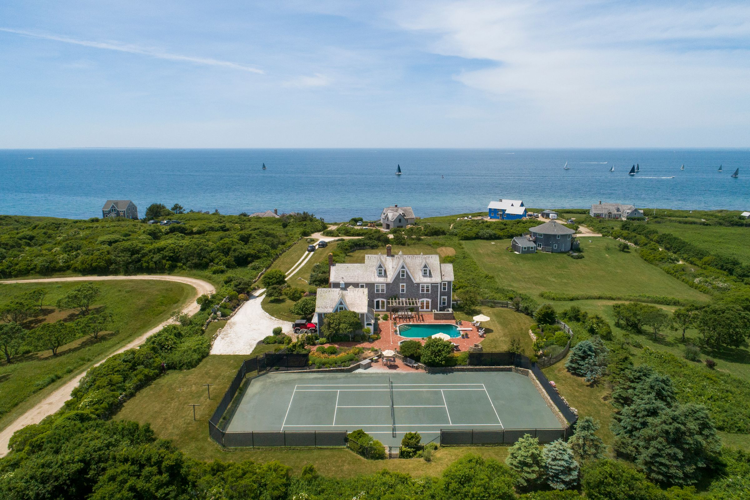 LILA DELMAN COMPASS SELLS BLOCK ISLAND COASTAL COMPOUND MARKING THE HIGHEST SALE ON THE ISLAND YEAR-TO-DATE*