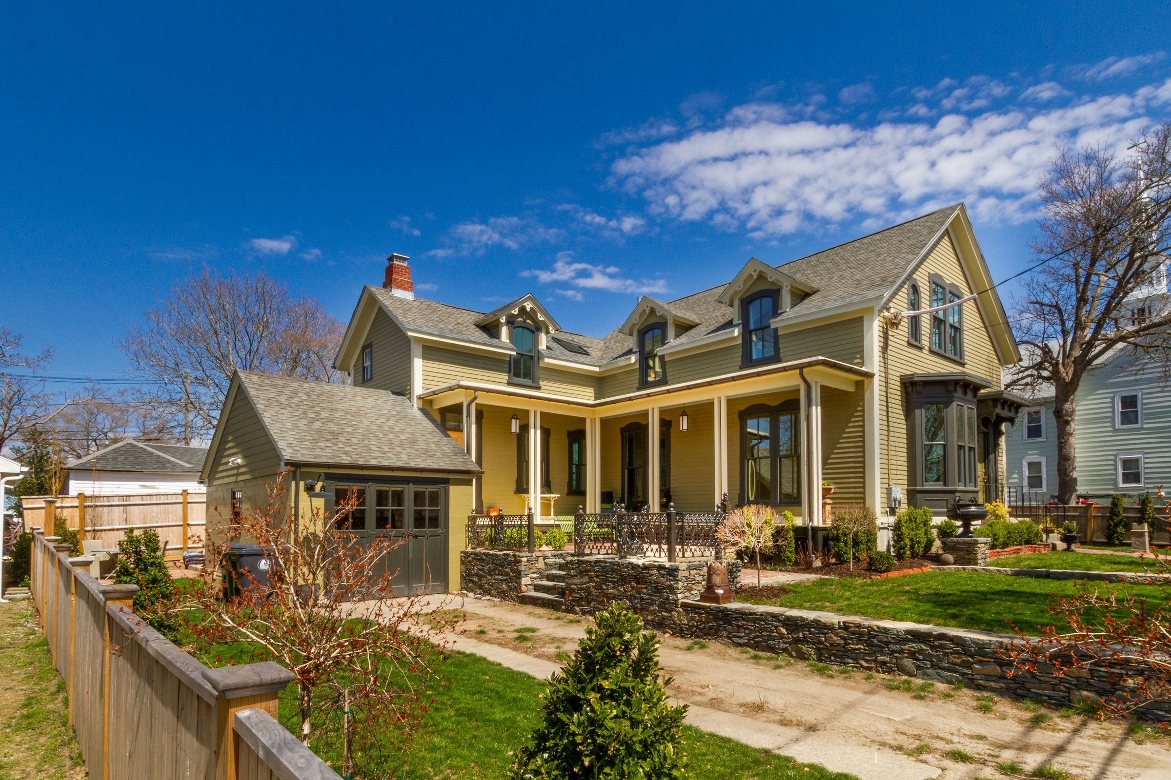 House Lust: This Yellow Victorian in Warren Has All the Right Updates