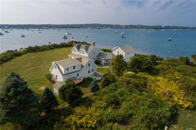6.9 STUNNING Acres Right In the Corner of the Great Salt Pond!