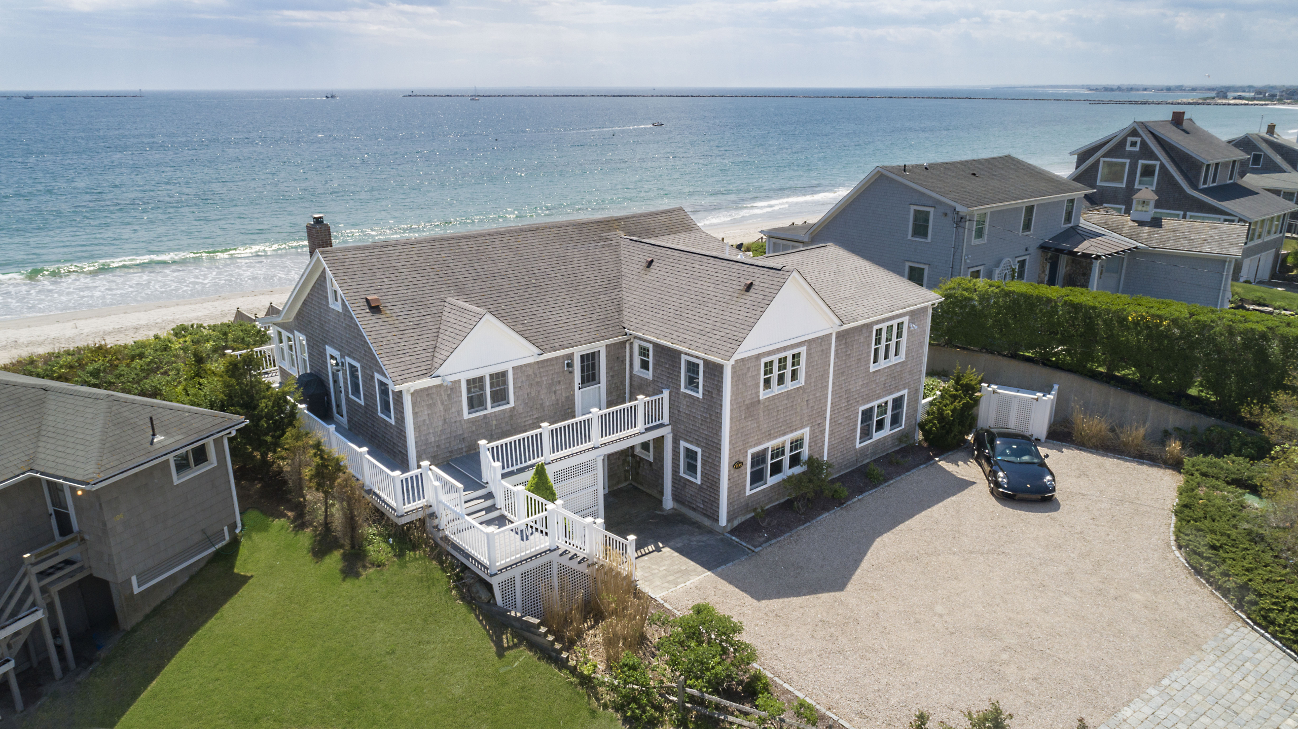 BEACHFRONT HOME IN NARRAGANSETT SELLS FOR $3.776M,  MARKING HIGHEST PRICE PER SQUARE FOOT SINCE 2015*