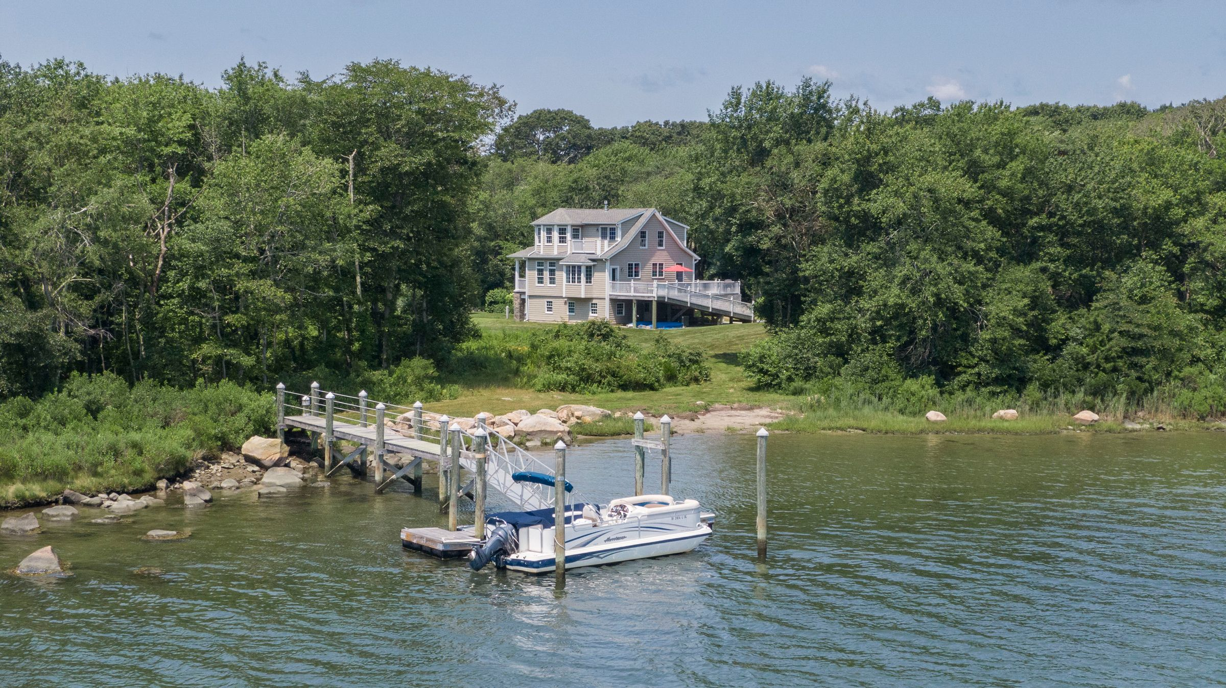 SHADY HARBOR HOME SELLS FOR $3.5M, MARKING RECORD SALE IN THE NEIGHBORHOOD AND SECOND HIGHEST SALE IN CHARLESTOWN YEAR-TO-DATE*